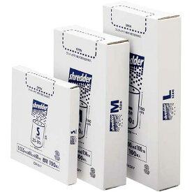 オルディ シュレッダー用ポリ袋 M BOX 透明 100枚
