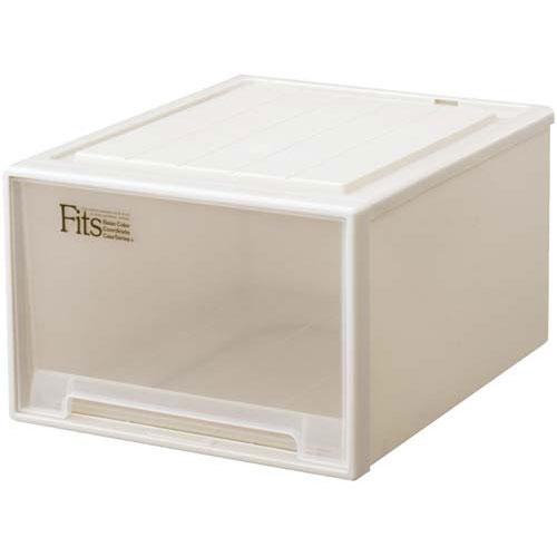天馬 Fits テンマ フィッツケース(奥行53cm)ワイドL−53  収納ボックス 収納ケース 衣装ケース 衣装ボックス 衣類ケース 衣類ボックス 衣類収納ボックス スタッキングボックス 積み重ねボックス プラスチック 押入れ 引き出し カウモール カウネット