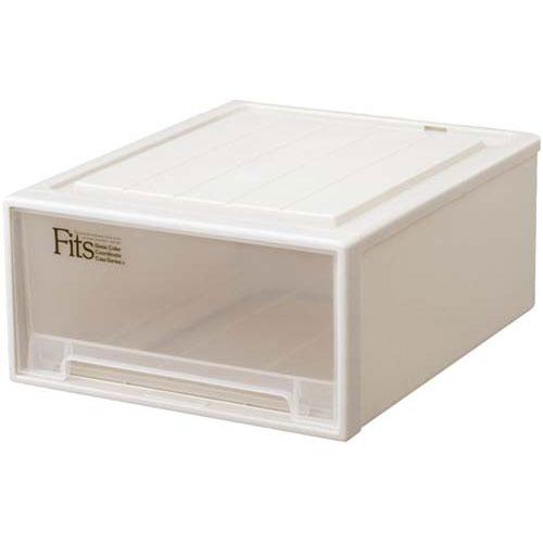 天馬 Fits テンマ フィッツケース(奥行53cm)ワイドM−53【1fiv】 | 収納ボックス 収納ケース 衣装ケース 衣装ボックス 衣類ケース 衣類ボックス 衣類収納ボックス スタッキングボックス 積み重ねボックス プラスチック 押入れ 引き出し カウモール カウネット