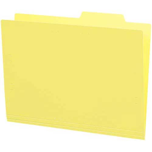 コクヨ 個別フォルダー(PP製・5枚パック)黄
