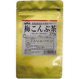 健茶館 梅こんぶ茶 200g
