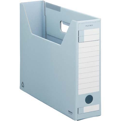 コクヨ ファイルボックス Dタイプスリム A4横 青