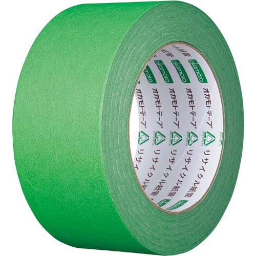 オカモト カラークラフトテープ 224WC 緑 1巻関連ワード【ガムテープ 梱包テープ 梱包用】