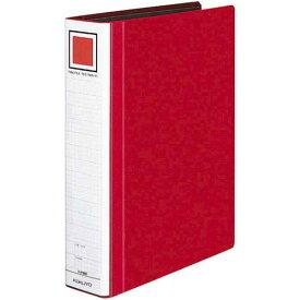 コクヨ チューブFエコツインR赤A4縦背幅65mm