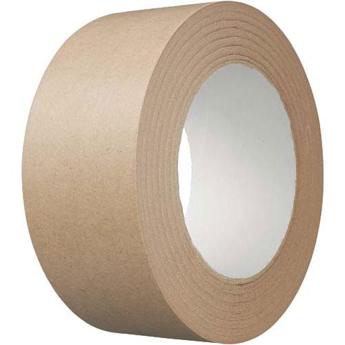 カウネット クラフトテープ 20巻【1ele】 | 梱包 梱包資材 テープ 引っ越し 引越し 梱包テープ 粘着テープ 作業用品 生活雑貨 まとめ買い カウモール