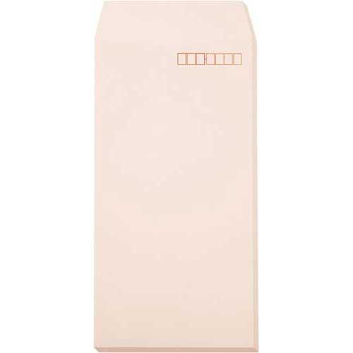 カウネット オリジナルソフトカラー封筒 長3 ピンク1000枚