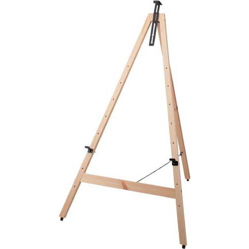 カウネット 木製イーゼル H1160 ナチュラル | 画架 店舗用 業務用 看板 スタンド おしゃれ 入口 黒板 ブラックボード カフェ メニュー カウモール