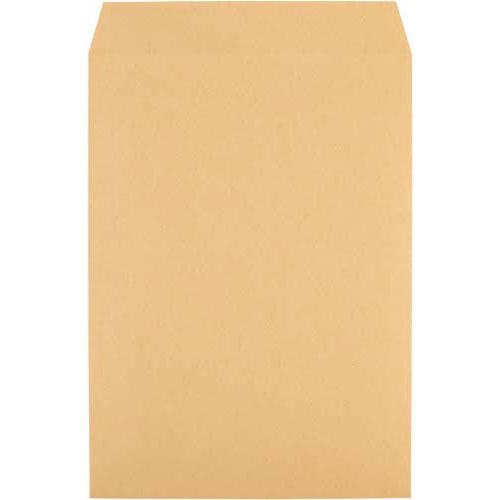 キングコーポレション クラフト封筒 スミ貼 角2 85g 100枚