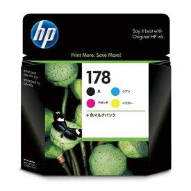 HP 純正インク HP178(CR281AA)4色パック