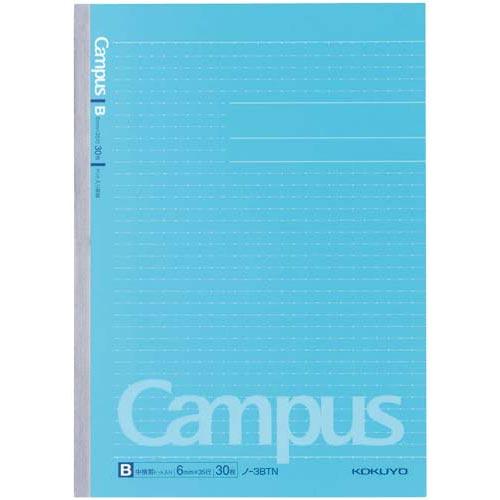 コクヨ キャンパスノートセミB5(ドット罫) B罫 10冊