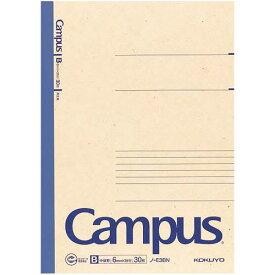 コクヨ 再生紙キャンパスノートセミB5 B罫30枚