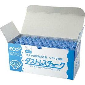 日本理化学工業 ダストレスチョーク 青72本入