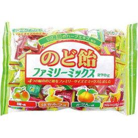 扇雀飴本舗 のど飴ファミリーミックス 270g入×3