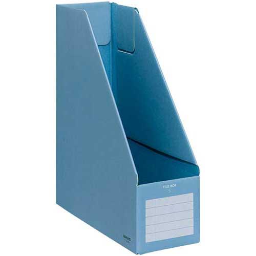 コクヨ ファイルボックスS A4縦 青
