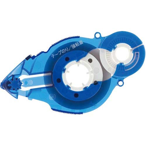 プラス テープのり スピンエコ22m交換テープブルー10個