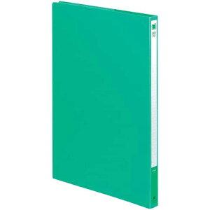 コクヨ ケースファイル 色厚板紙A4縦 緑5冊
