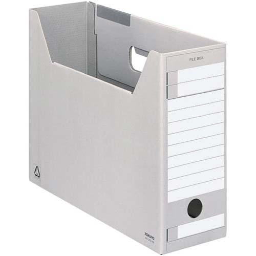 コクヨ ファイルボックスFS<E>A4ジャスボックス灰×5