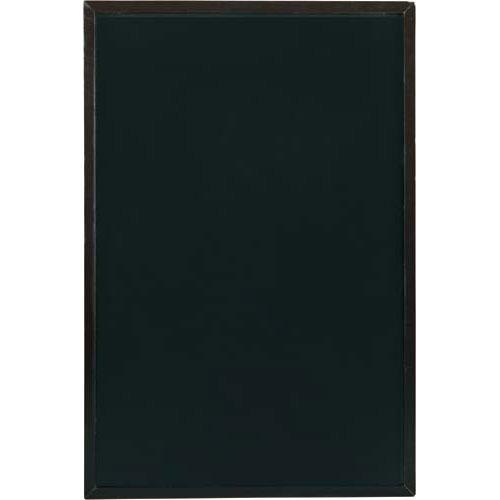 カウネット 両面黒板 ダークブラウン 幅600高さ900 | ブラックボード ぶらっくぼーど 店舗用品 業務用 カフェ ディスプレイ ディスプレー メニュー メニューボード カウモール
