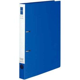 コクヨ リングファイルスリムスタイル青A4縦背幅33mm10冊