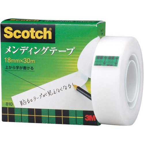 スリーエムジャパン メンディングテープ小巻 18mm×30m