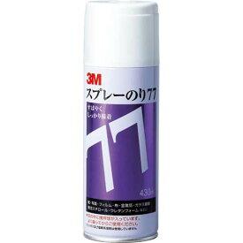 スリーエムジャパン スプレーのり77 430ml 早い接着タイプ 5缶