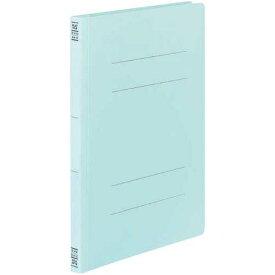 コクヨ フラットファイルV樹脂とじ具 A4縦 青 10冊