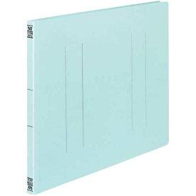 コクヨ フラットファイルV樹脂とじ具 A3横 青 10冊