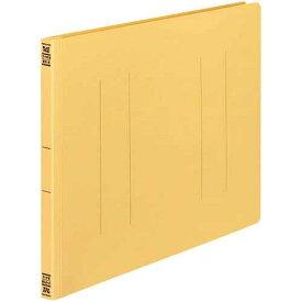 コクヨ フラットファイルV樹脂とじ具 B4横 黄 10冊