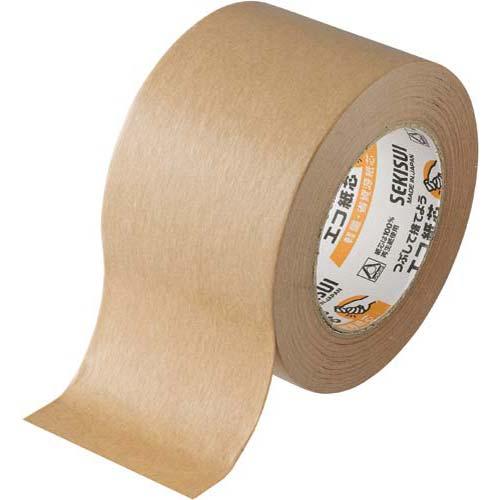 セキスイ クラフトテープ No.500 75mm 1巻関連ワード【ガムテープ 梱包テープ 梱包用】