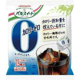 味の素 パルスイート カロリーゼロ ポーション15個入×4