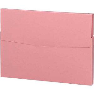 コクヨ ケースファイル 高級色板紙 A4縦 桃 30冊