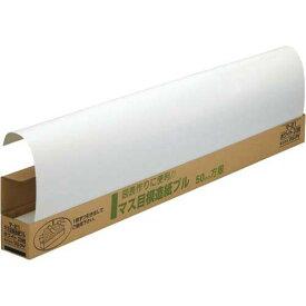 マルアイ マス目模造紙788×1085mm 20枚 ホワイト