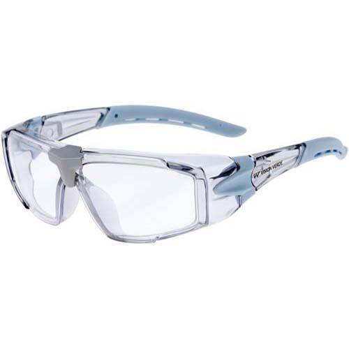 ミドリ安全 バネ付き保護メガネ 防塵防曇仕様