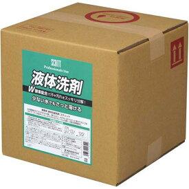 熊野油脂 スクリット 業務用液体洗剤 10L