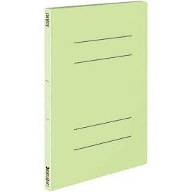 コクヨ フラットファイル<オール紙> A4縦 緑 10冊