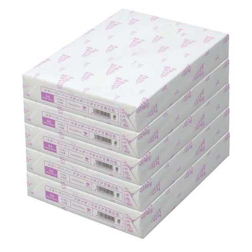 カウネット タイプ2高白色 A4 1冊(500枚)×5関連ワード【コピー用紙 印刷用紙 プリンター用紙】
