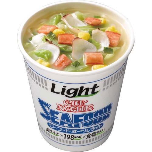 日清食品 カップヌードル ライト シーフードヌードル12個入