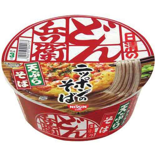 日清食品 日清のどん兵衛 天ぷらそば 西日本風 12個入