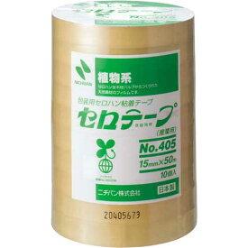 ニチバン セロテープ業務用 幅15mm×長さ50m 10巻