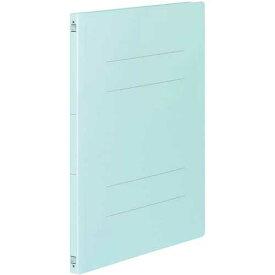 コクヨ フラットファイルV樹脂とじ具 A3縦 青 10冊