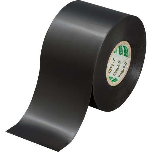 オカモト ビニールテープ 黒 50mm×20m 10巻