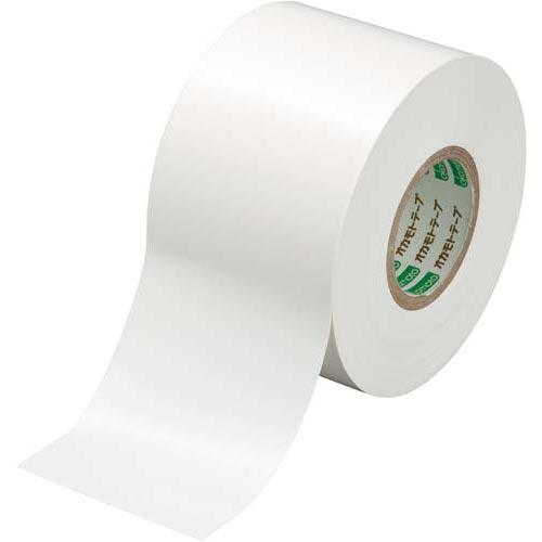 オカモト ビニールテープ 白 50mm×20m 10巻