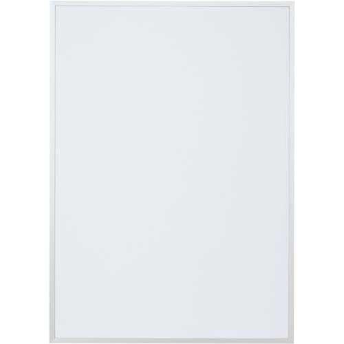 カウネット ポスターパネル A2 シルバー | ポスターフレーム 壁掛け 掲示用 アルミフレーム ディスプレイ ディスプレー UVカット加工 ポスターパネル ポスター パネル フレーム 額縁 A2 サイズ カウモール