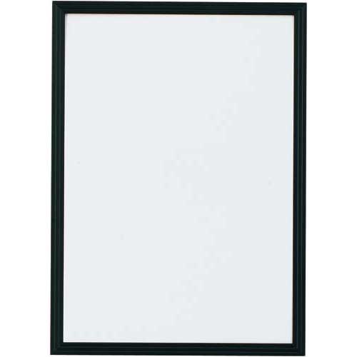 カウネット ポスターパネル B3 ブラック | ポスターフレーム 壁掛け 掲示用 アルミフレーム ディスプレイ ディスプレー UVカット加工 ポスターパネル ポスター パネル フレーム 額縁 B3 サイズ カウモール