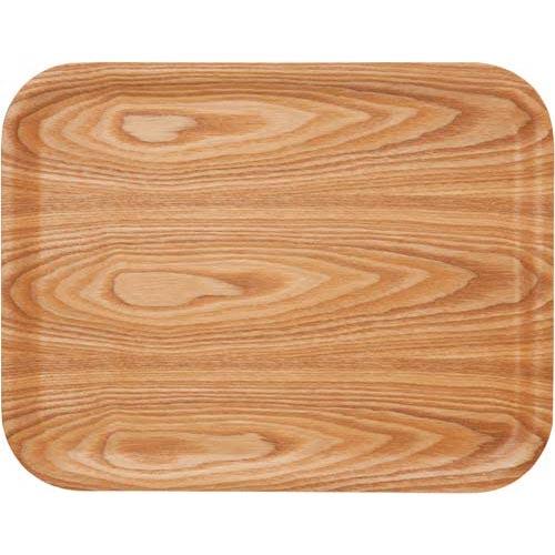 アサヒ興洋 ノンスリップ木製トレー ナチュラル M