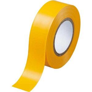 カウネット ビニールテープ 黄 19mm×10m 30巻 | 梱包 梱包資材 テープ 引っ越し 引越し 梱包テープ 粘着テープ ビニール テープ 工作 作業用品 生活雑貨 まとめ買い カウモール