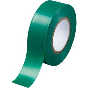 カウネット ビニールテープ 緑 19mm×10m 10巻 | 梱包 梱包資材 テープ 引っ越し 引越し 梱包テープ 粘着テープ ビニール テープ 工作 作業用品 生活雑貨 まとめ買い カウモール