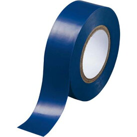 カウネット ビニールテープ 青 19mm×10m 10巻 | 梱包 梱包資材 テープ 引っ越し 引越し 梱包テープ 粘着テープ ビニール テープ 工作 作業用品 生活雑貨 まとめ買い カウモール