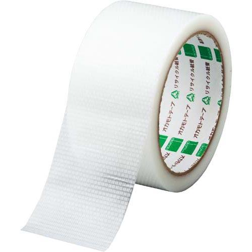 オカモト カラークロステープ No.420 透明 1巻関連ワード【ガムテープ 梱包テープ 梱包用】