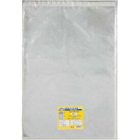カウネット OPP袋テープ付B3用 | B3サイズ OPP袋 透明 クリア テープ付き 透明袋 梱包 ラッピング用品 袋 梱包資材 カウモール